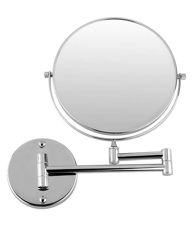 Greggs Silver Stainless Steel Bathroom Mirror