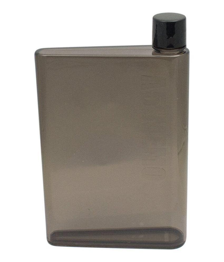 JLT A5 Flat Portable Notebook Water Bottle - 420 ml