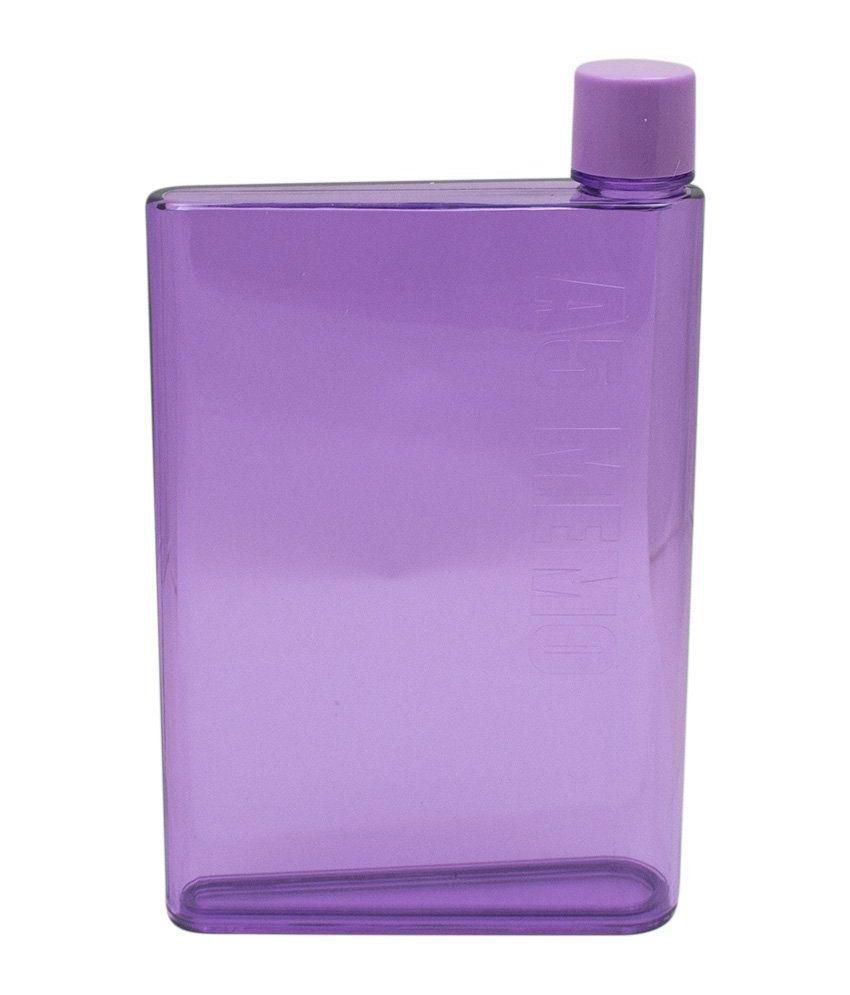 JLT Purple A5 Memo Bottle - 420ml: Buy Online at Best Price in India - Snapdeal