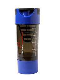 Alpha Armour Tornado Cup Blue Shaker-600ml - 626689869591