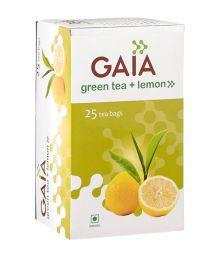 Gaia Lemon Green Tea (25 Tea Bags)