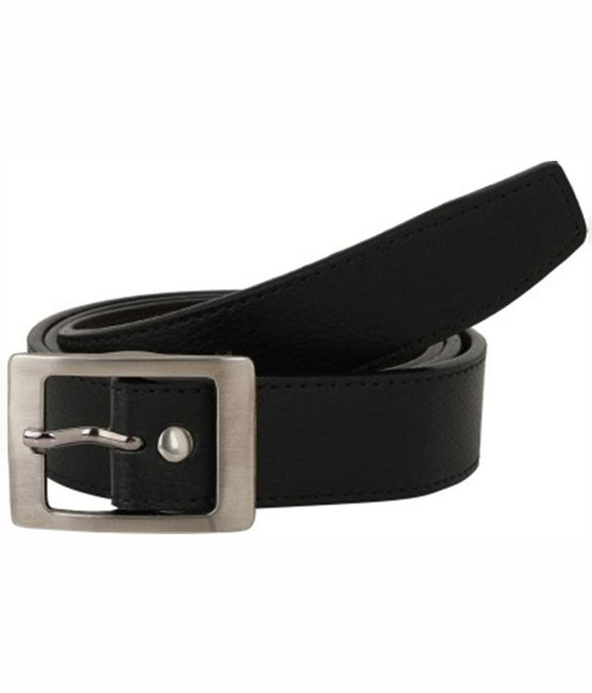 Daller Black Casual Belt for Men