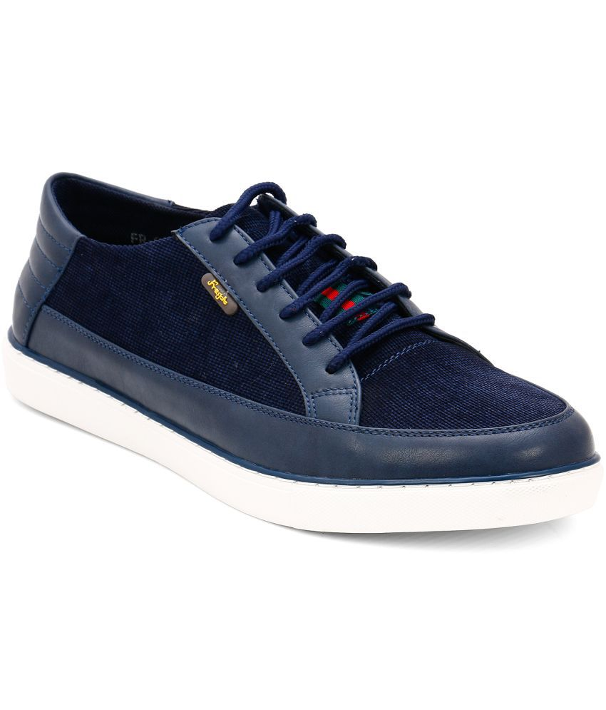 Froskie Navy Sneaker Shoes