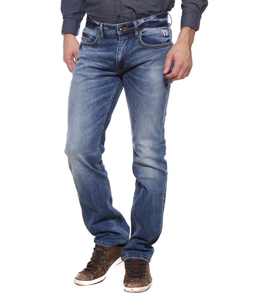 Pepe Jeans Blue Slim Fit Jeans