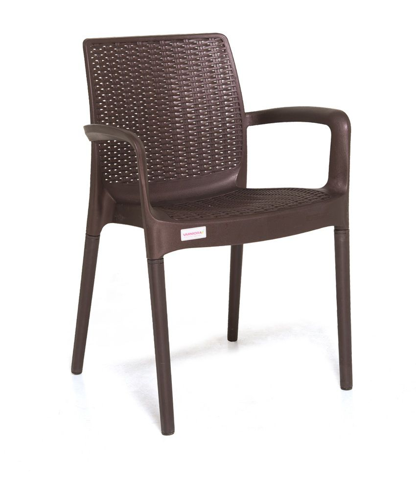 Varmora Designer Chair Set of 4 (Esquire -Brown) - Buy Varmora ...