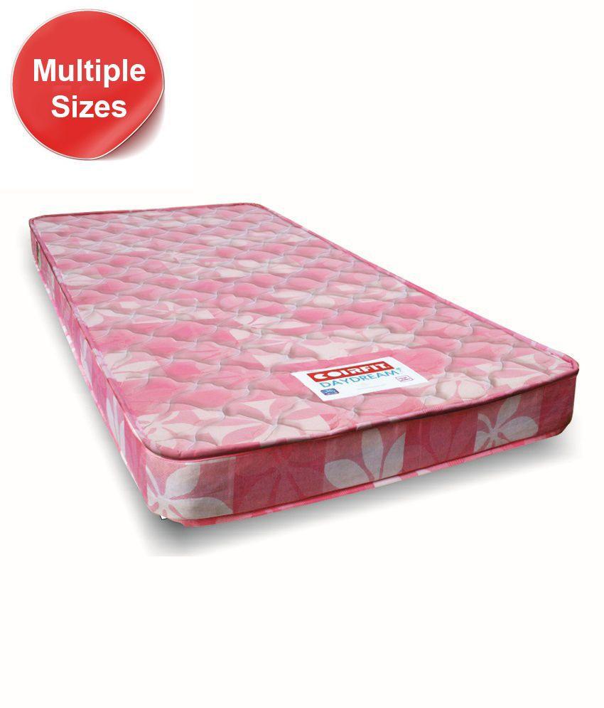 coirfit daydream 4 5 inches pocket friendly comfort coir mattress