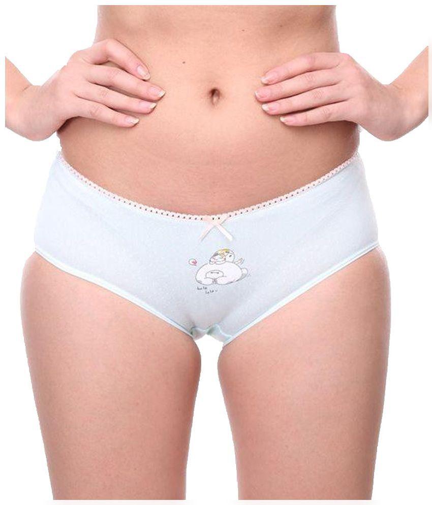Wet cotton panty