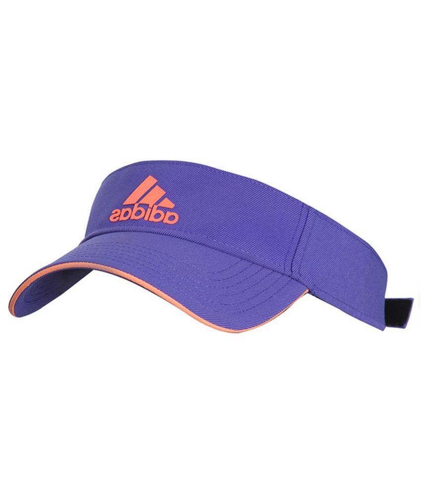 bca1a43e43 Adidas Blue Polyester Tennis Cap  Buy Online at Low Price in India -  Snapdeal