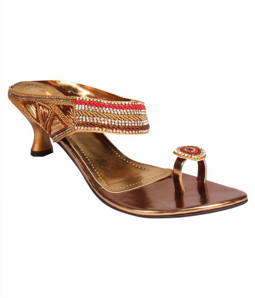 Atul's Gold Heels