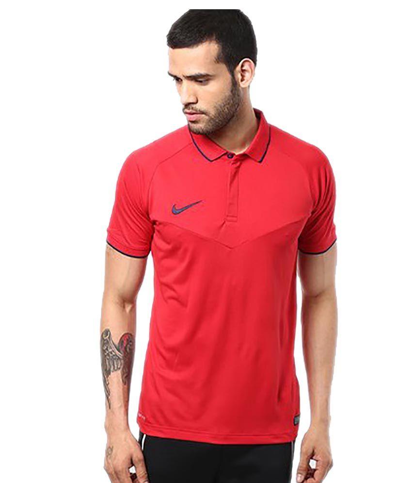 Nike As Em Hitmark SS Polo Cricket T-Shirt
