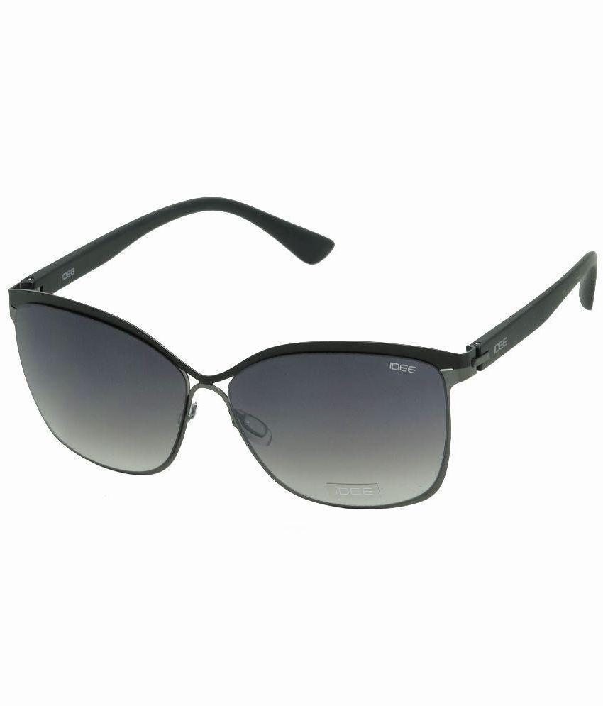 Idee Gray Rectangle Sunglasses ( IDEE-S2092-C2 )