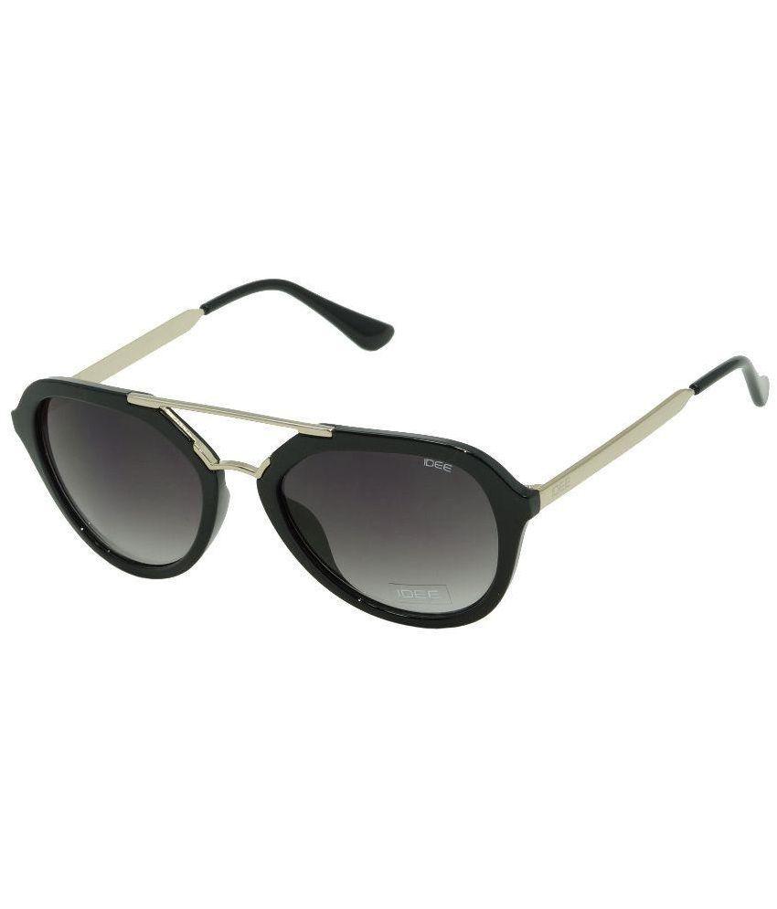 Idee Gray Wrap Around Brow Bar Sunglasses Idee S2108 Buy Idee