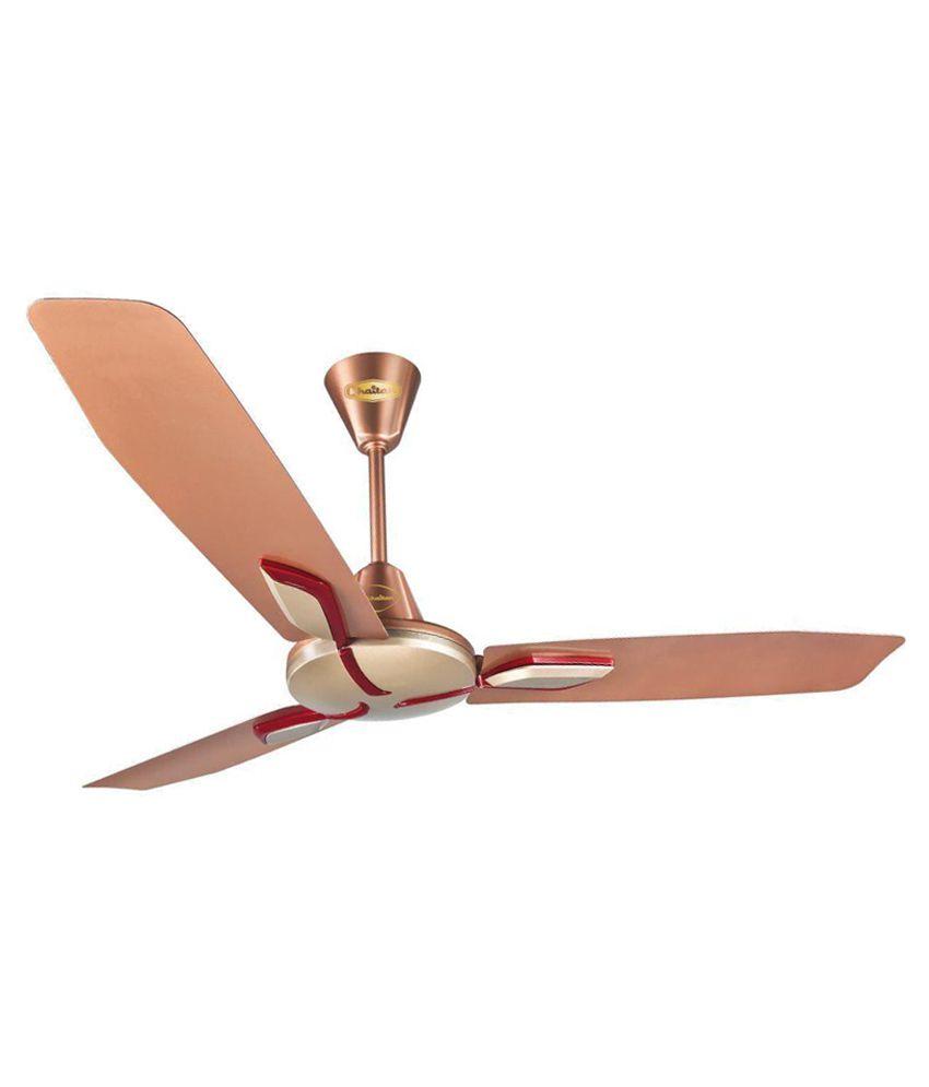 Rainbow Ceiling Fan : Khaitan rainbow ceiling fan brown price in india buy