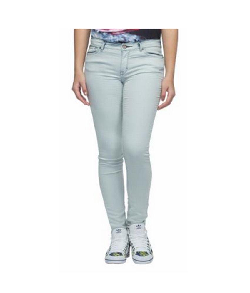 Adidas Blue Cotton Jeans