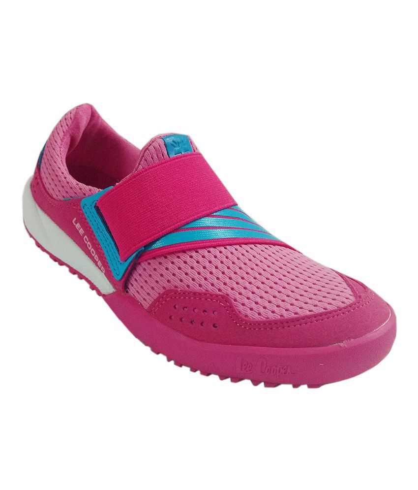 Lee Cooper Pink Running Shoes
