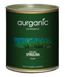 Aurganic Organic Spirulina Powder 100 Gm Overall Wellness