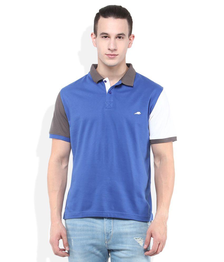 2Go Blue Polo T-Shirt