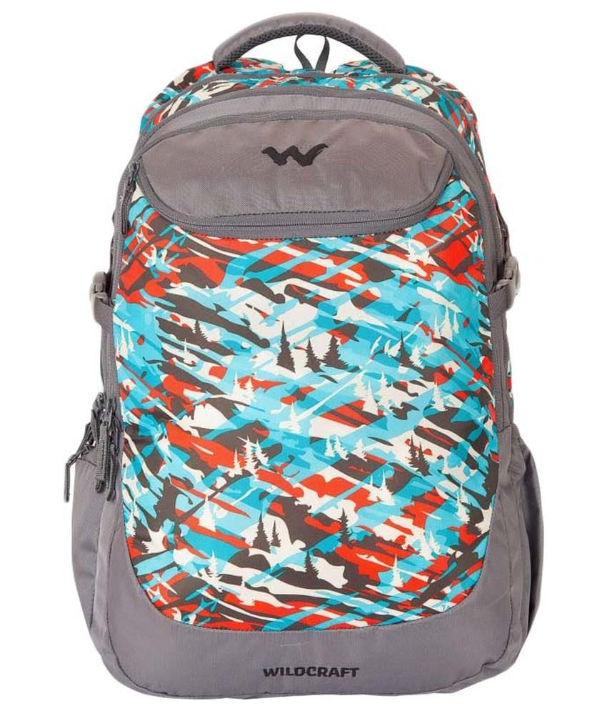 Wildcraft CAMO 5 Blue 35 ltrs Polyester Casual Backpack - Buy Wildcraft  CAMO 5 Blue 35 ltrs Polyester Casual Backpack Online at Low Price - Snapdeal e9f0ee05dbc24