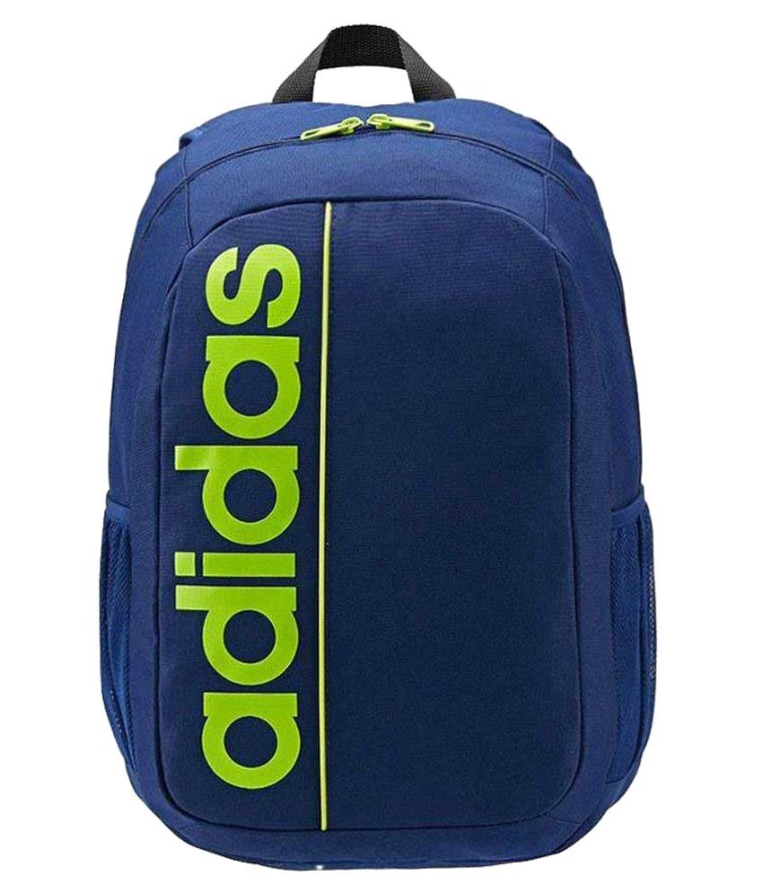 61aee1dc17 Adidas Blue Polyester School Bag - Buy Adidas Blue Polyester School Bag  Online at Low Price - Snapdeal
