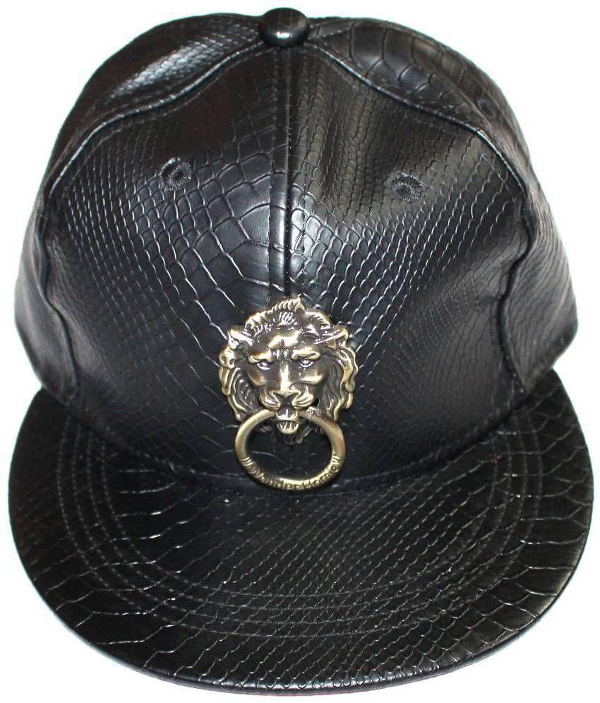 99DailyDeals Black Polyester Baseball Cap