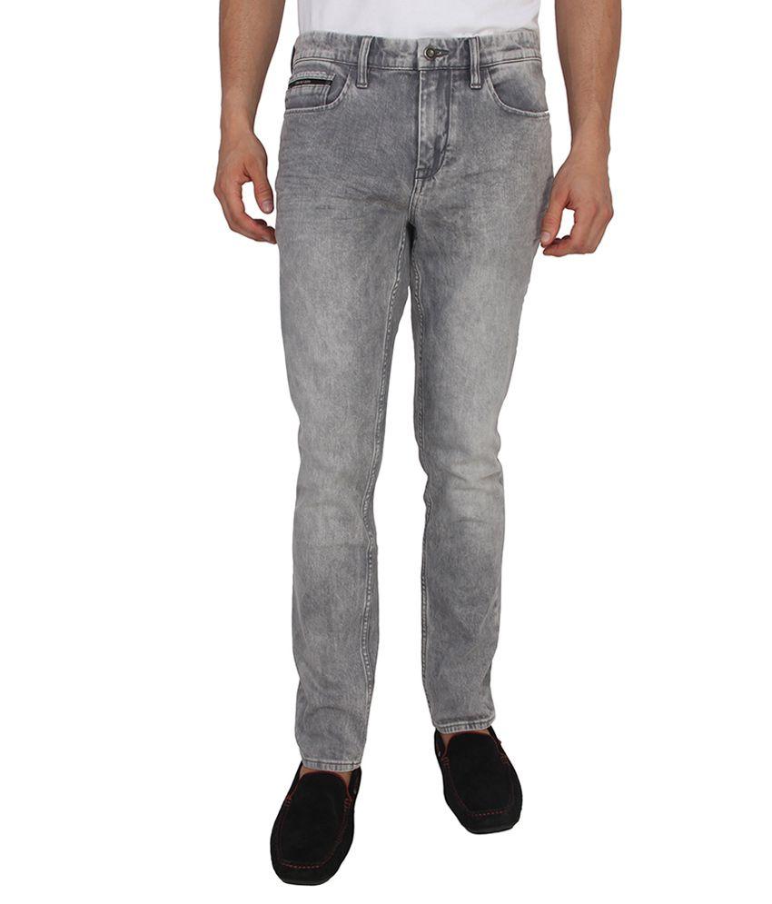 Calvin Klein Jeans Grey Skinny Fit Jeans