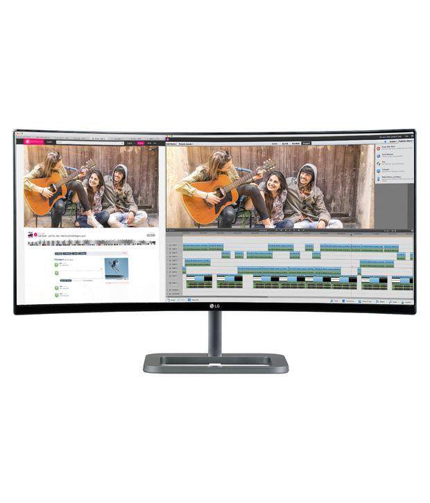 LG 34UC87C-B 86.36 cm (34) Ultrawide Full HD IPS Display Monitor