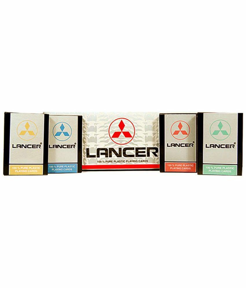 Lancer Plastic Playing Cards