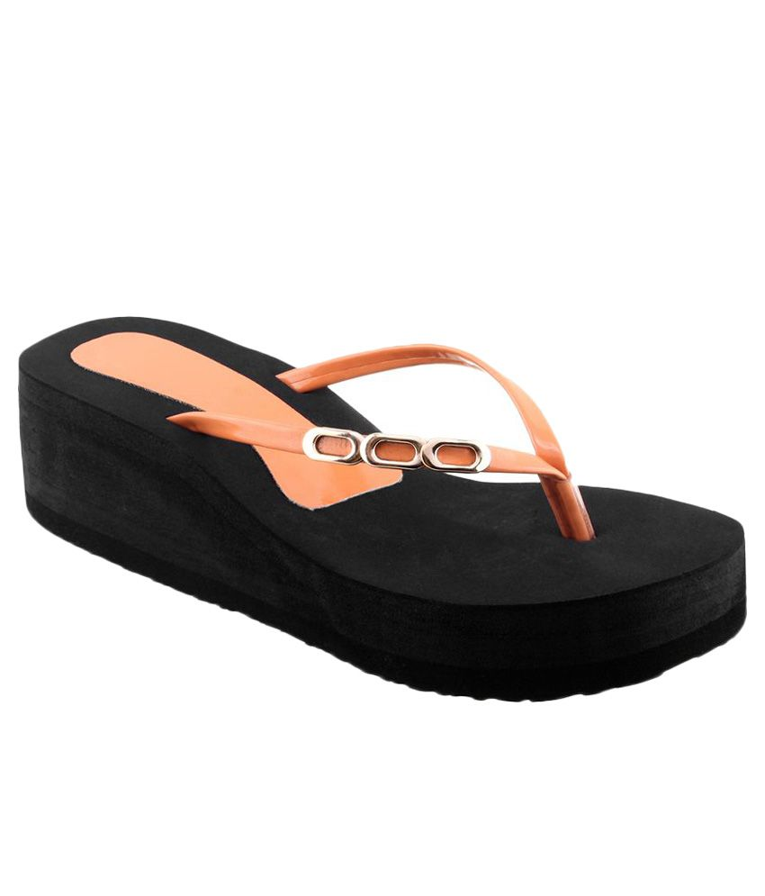 Shoe Lab Orange Slippers