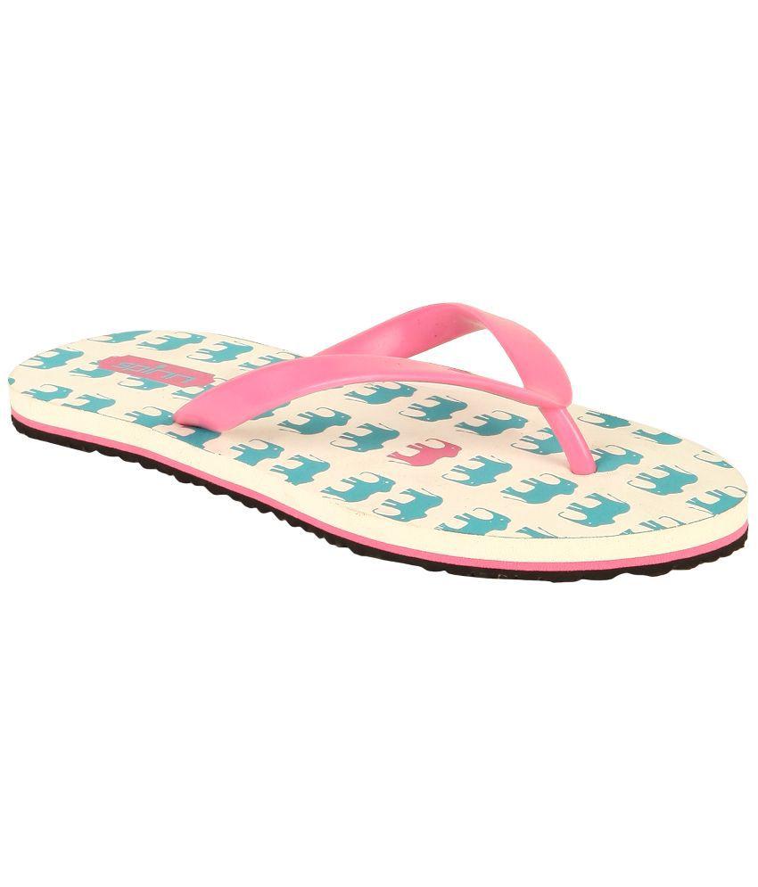 Spinn Pink Flip Flops