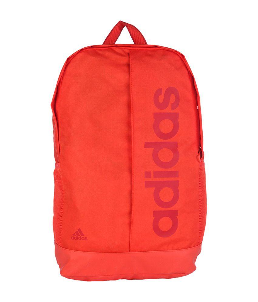 adidas bookbag red