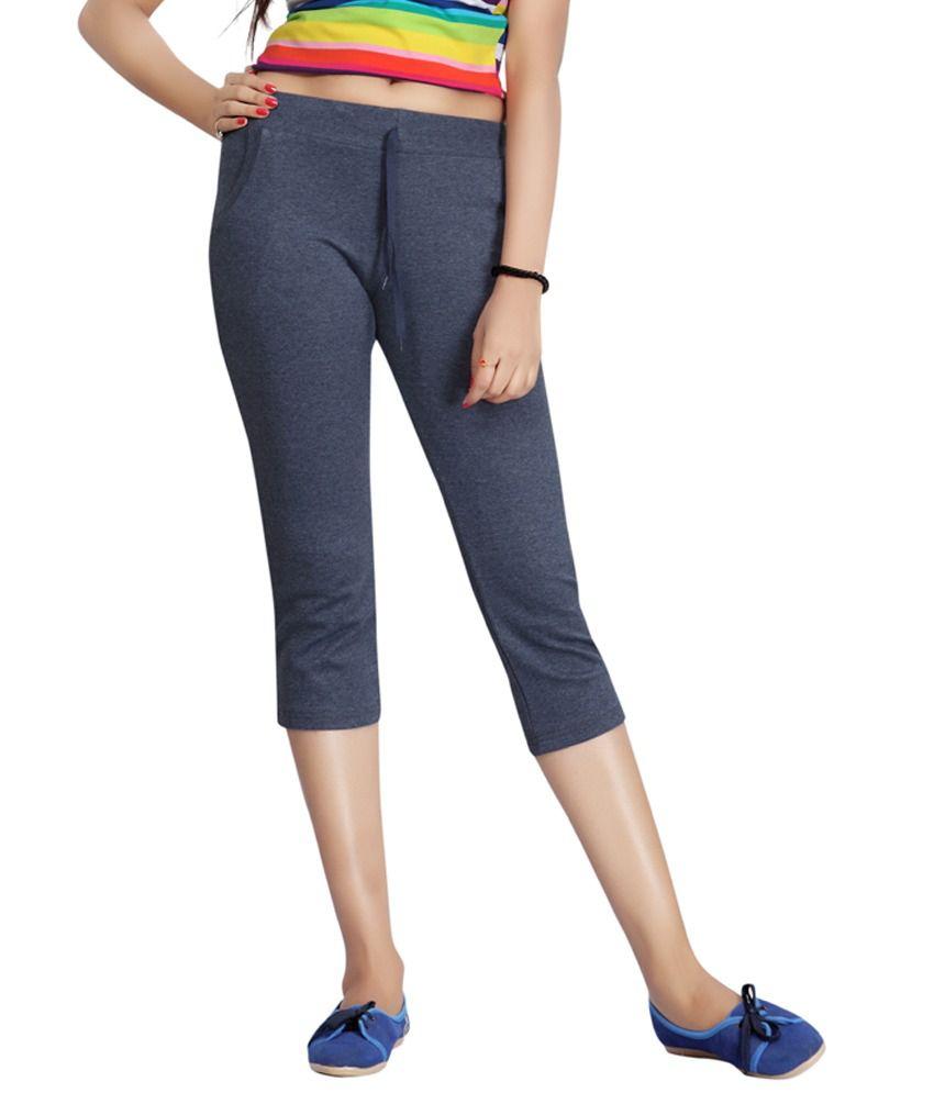 Filmax Originals Women's Sports Gym Yoga Joggers Pant - Denim Blue