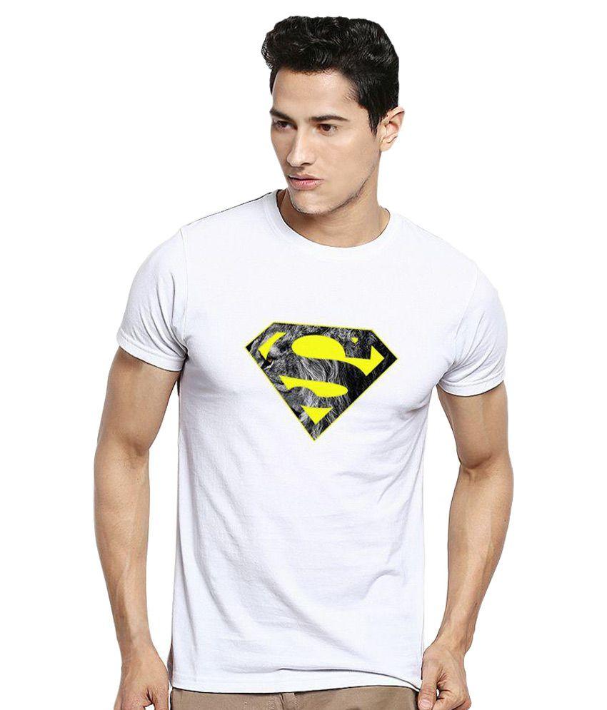 Kavit Hub White Round T Shirt