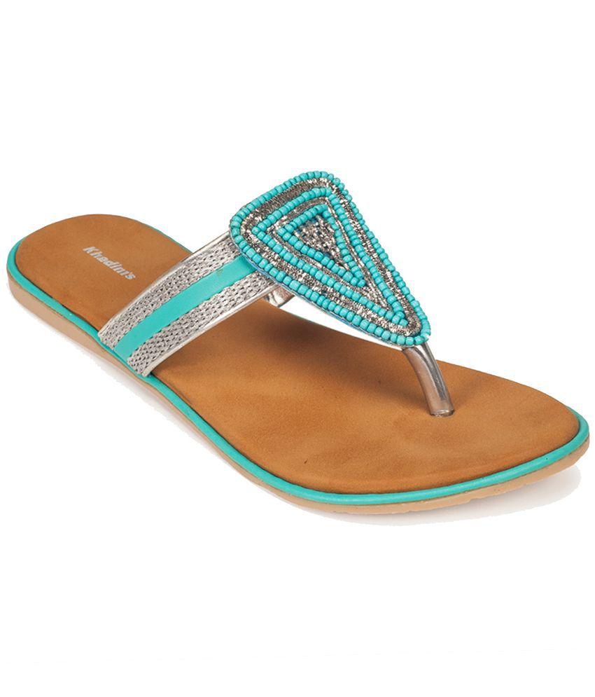 Khadim's Blue Flats