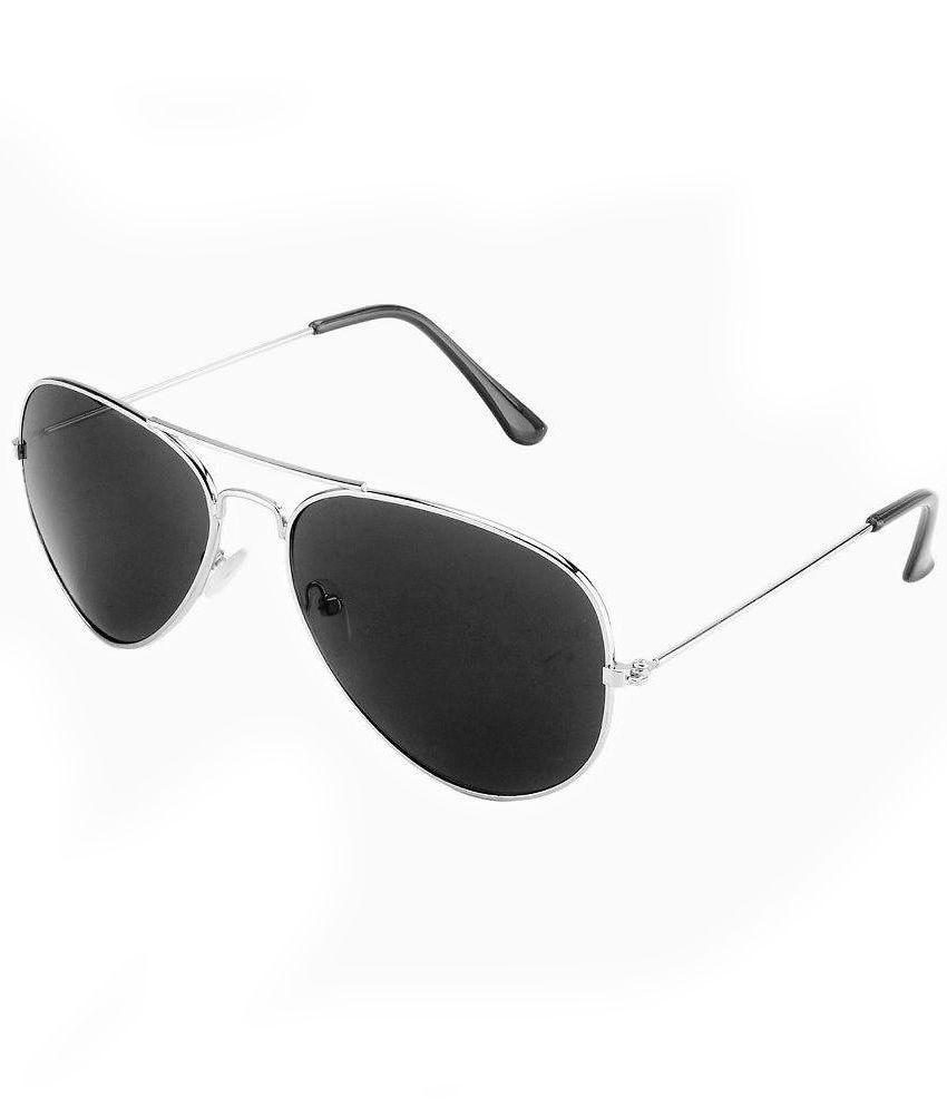 Ochila Black Aviator Sunglasses ( AV 454 )