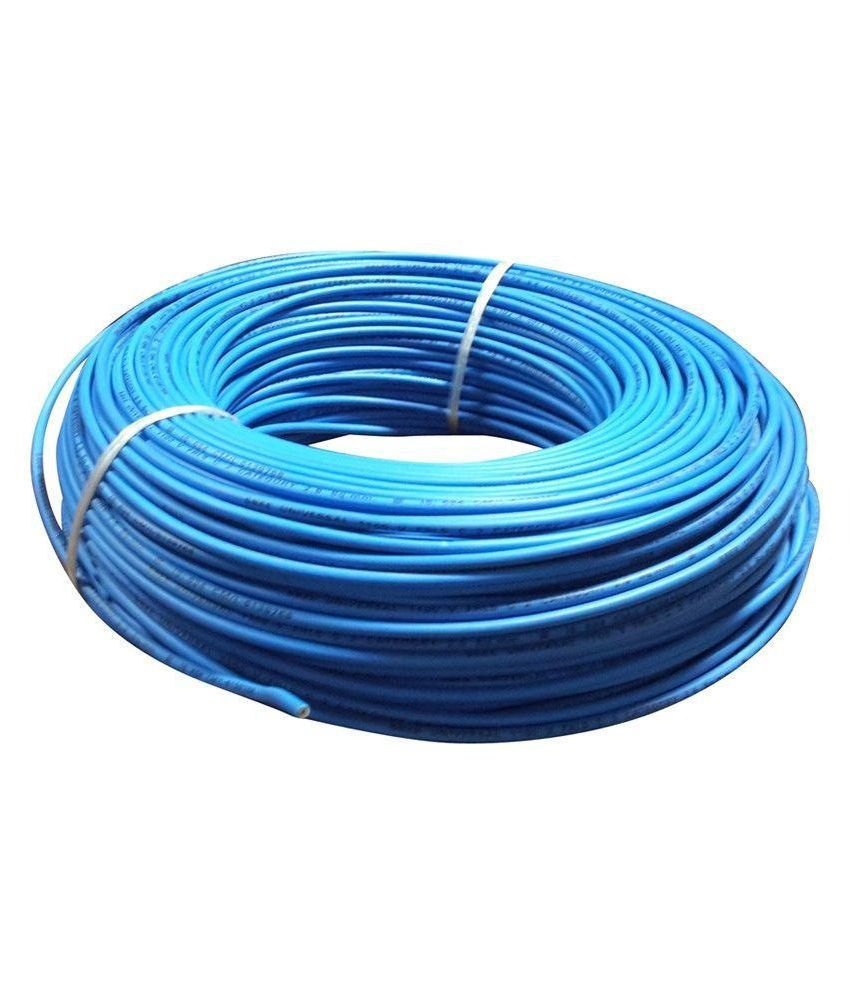 Buy Primtech Blue Fr Pvc Insulated Copper Wire Online at Low Price ...