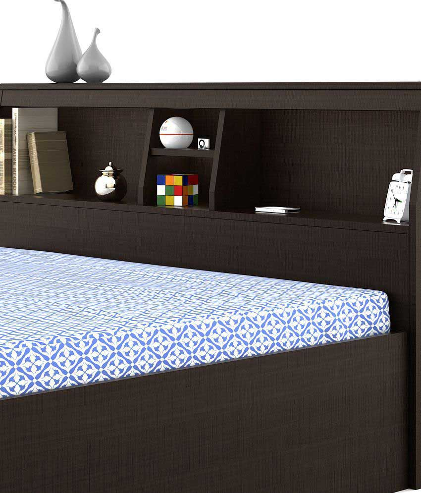 Best Place To Buy Beds Online: Spacewood Arcade Queen Size Storage Bed