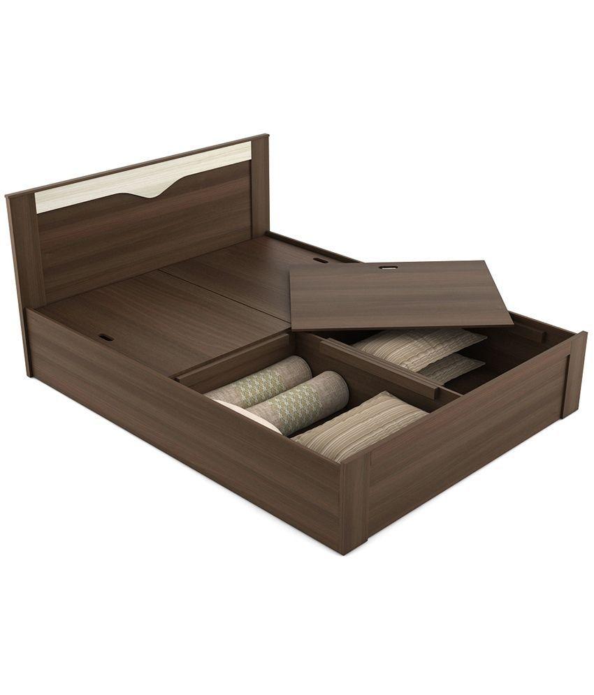 Spacewood Crescent Storage Queen Size Bed Buy Spacewood