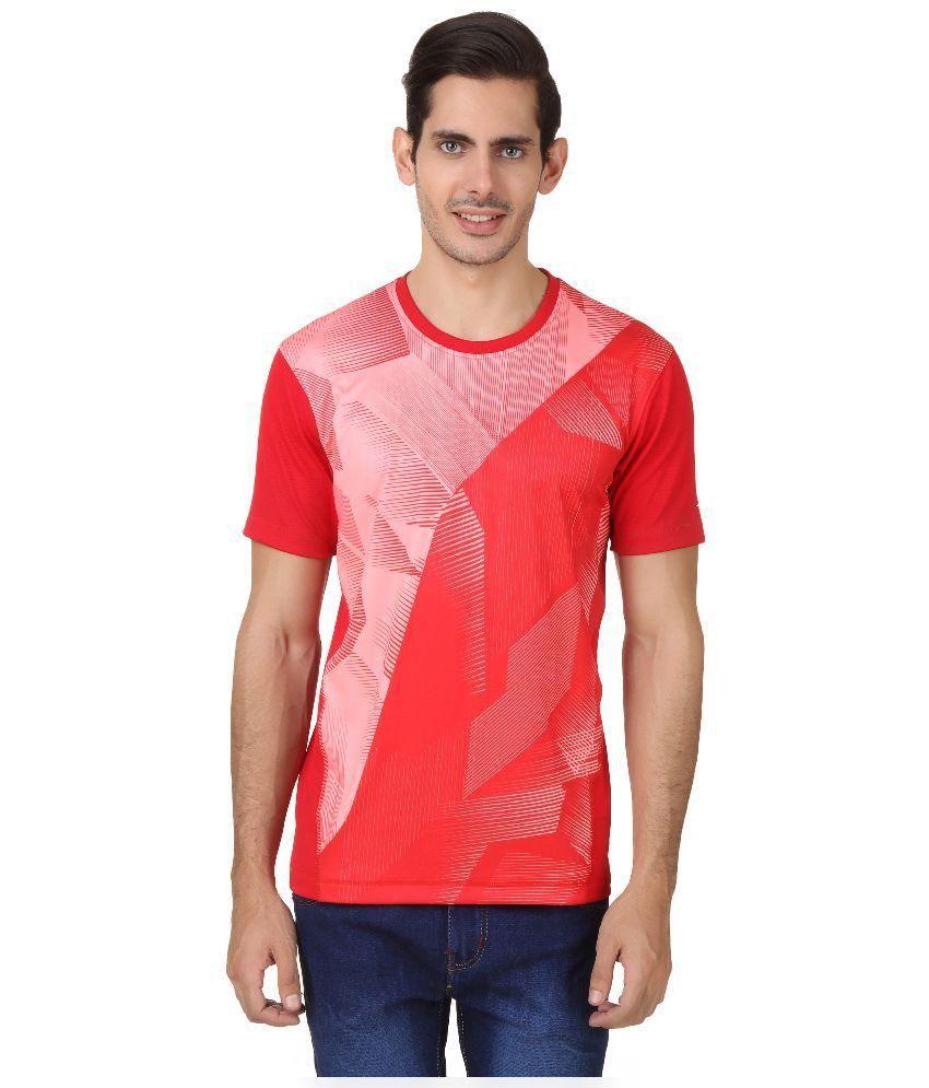 2Go Red Round T Shirt