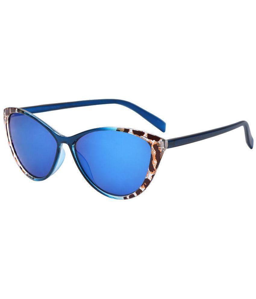 Blue Cat Eye Sunglasses  hh blue cat eye sunglasses cateyebluemurcury01 hh blue