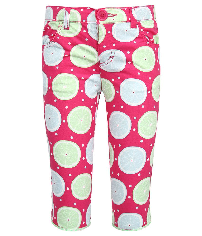 United Colors of Benetton Pink Capris