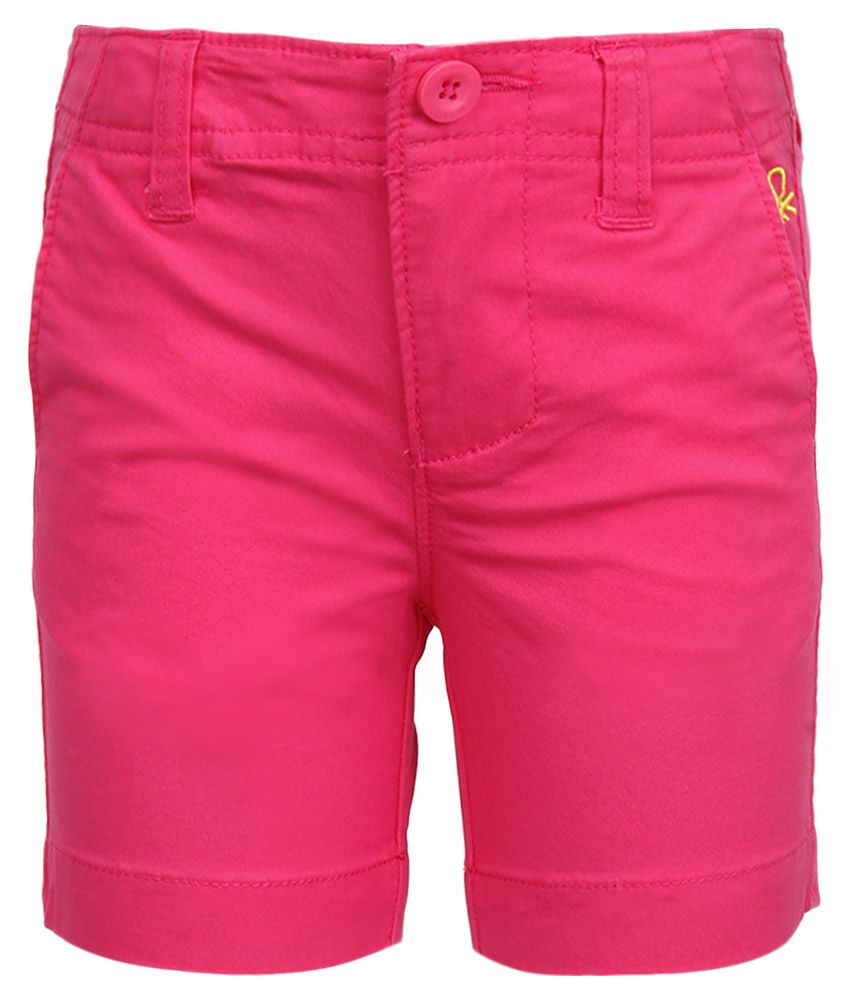 United Colors of Benetton Pink Shorts