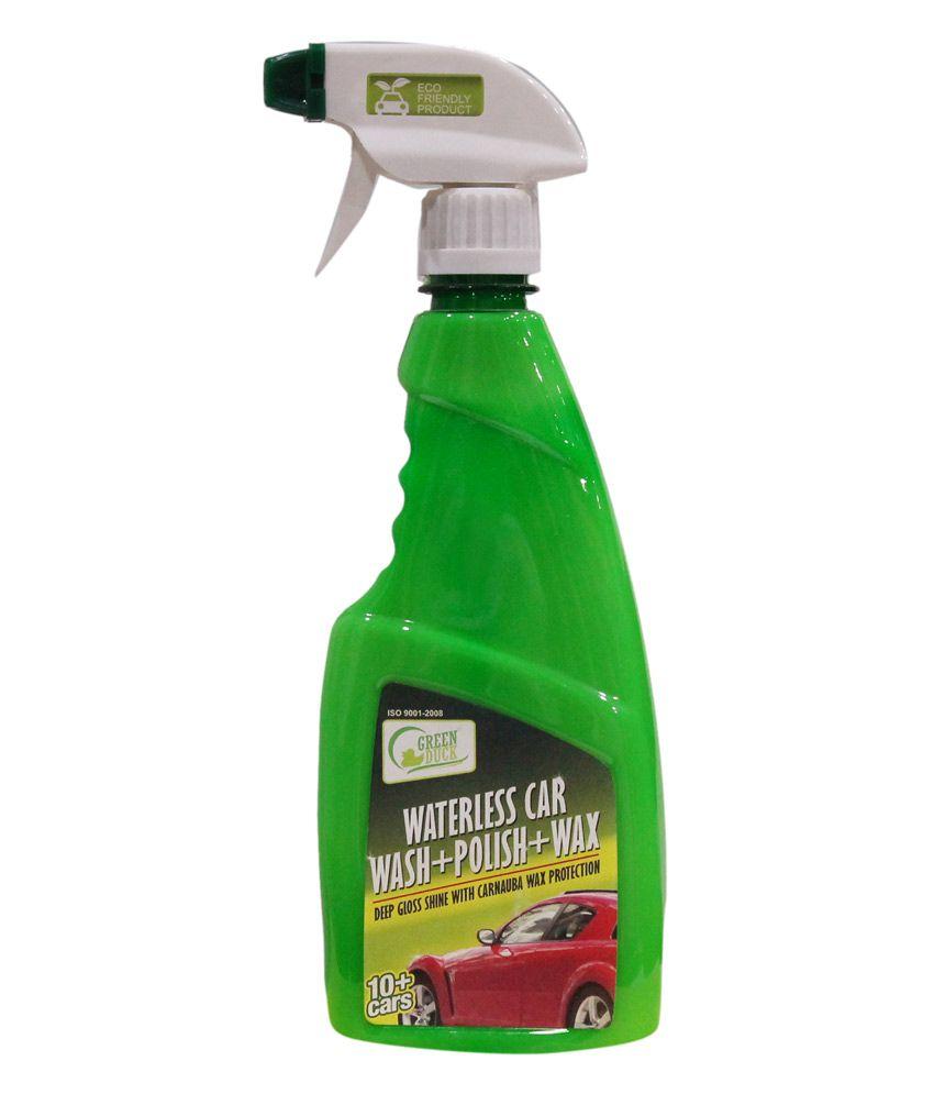 Microfiber Towel Kit: Green Duck Waterless Car Wash Kit With 2 Microfiber Towel