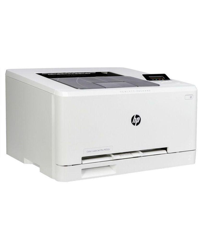 HP PRO M252N Colour Laserjet Printer - White