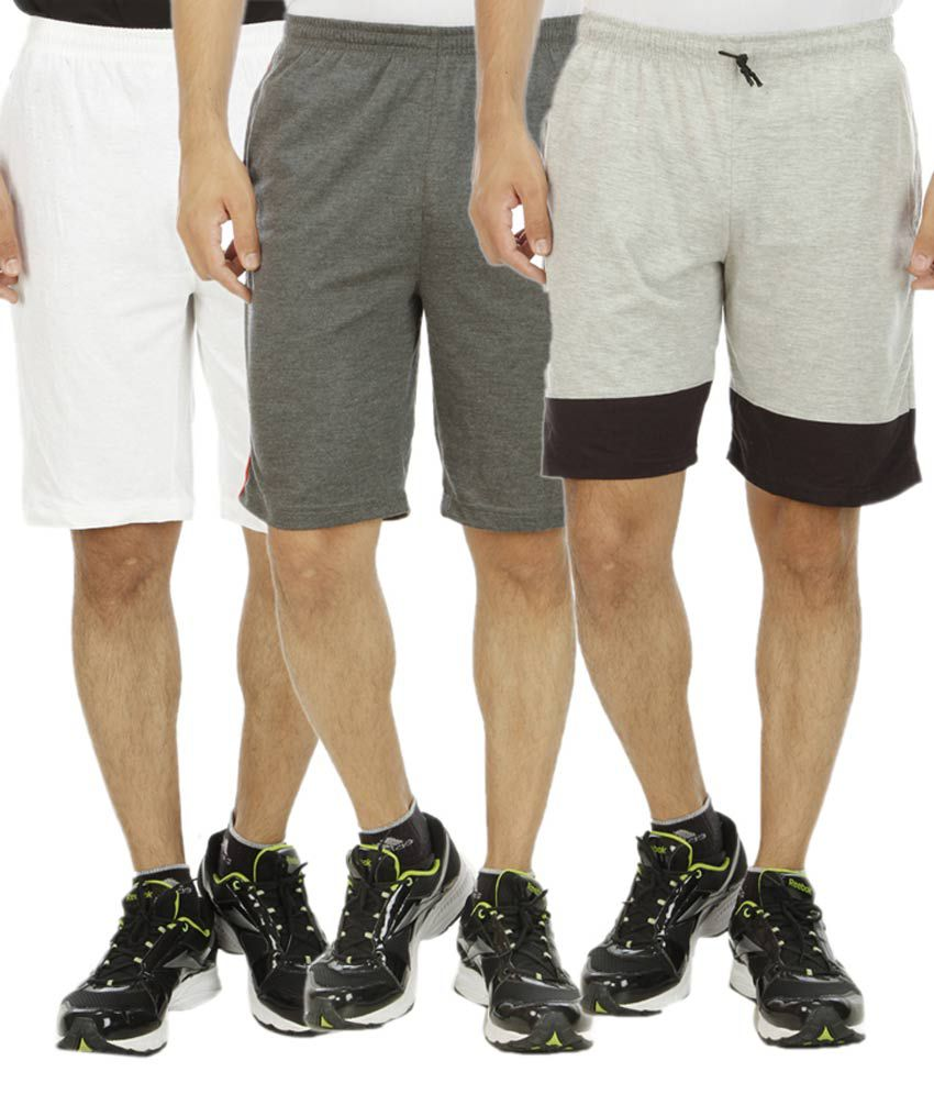 Hardy's Collection Multicolor Shorts Pack of 3