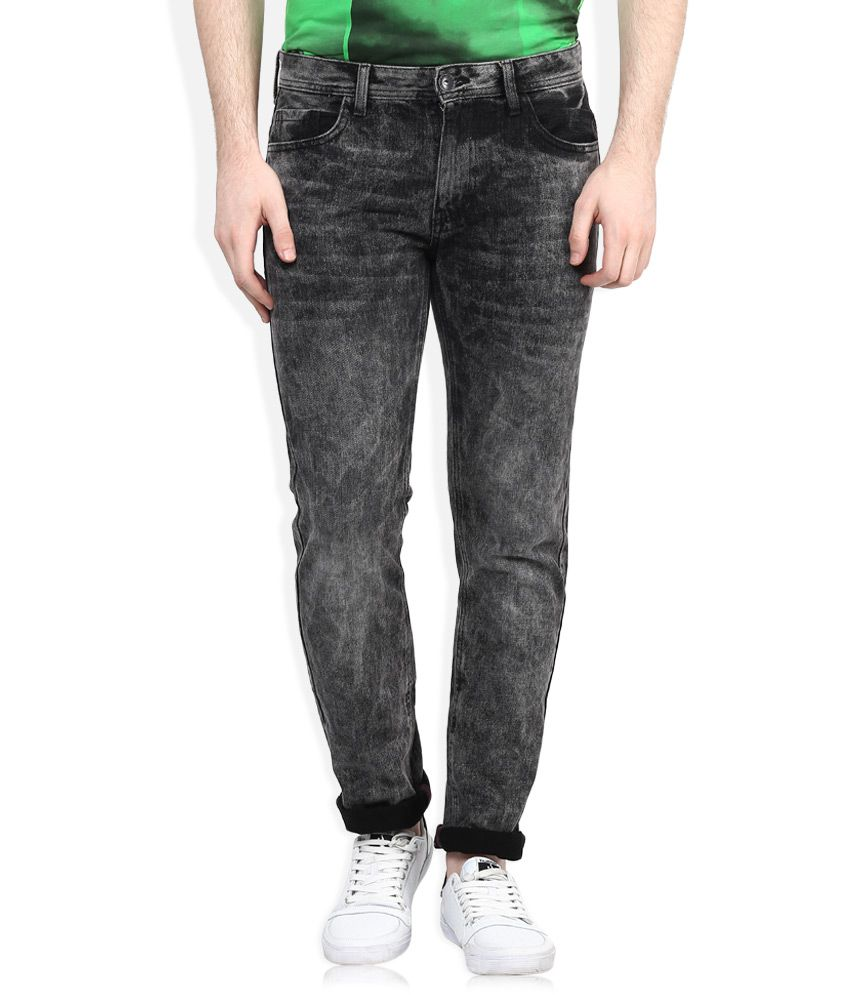 United Colors Of Benetton Black Slim Fit Jeans