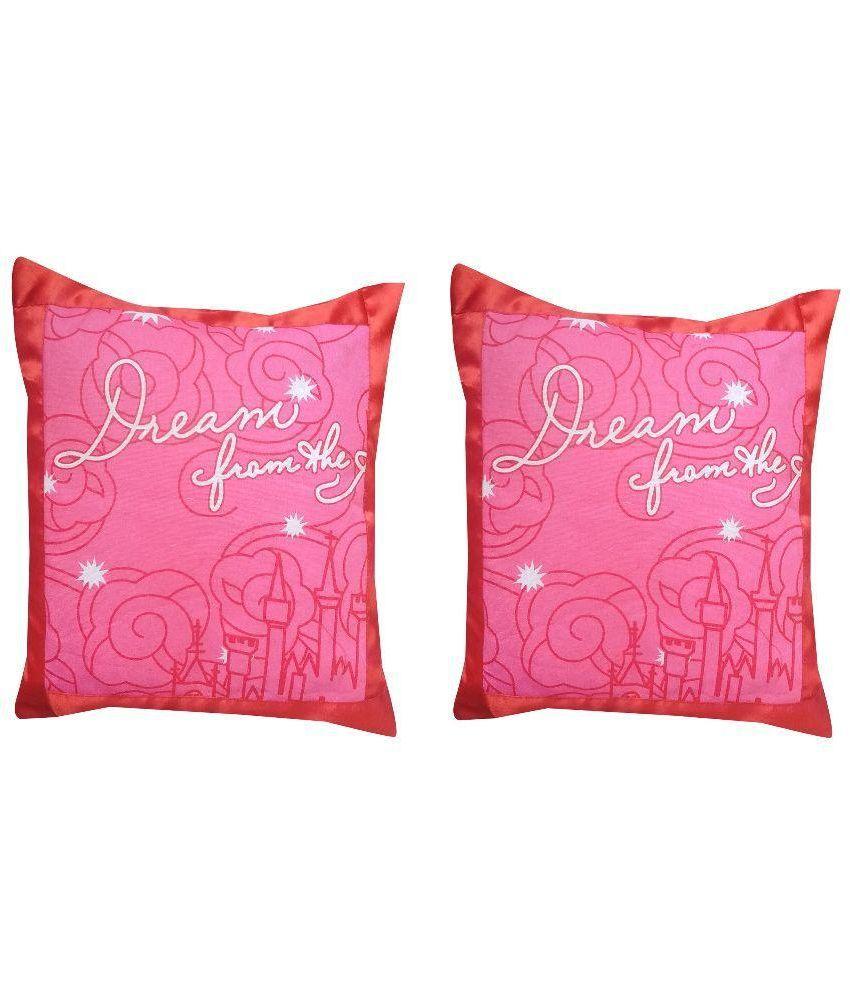 Vishal Store Multicolor Cotton Cushion Covers