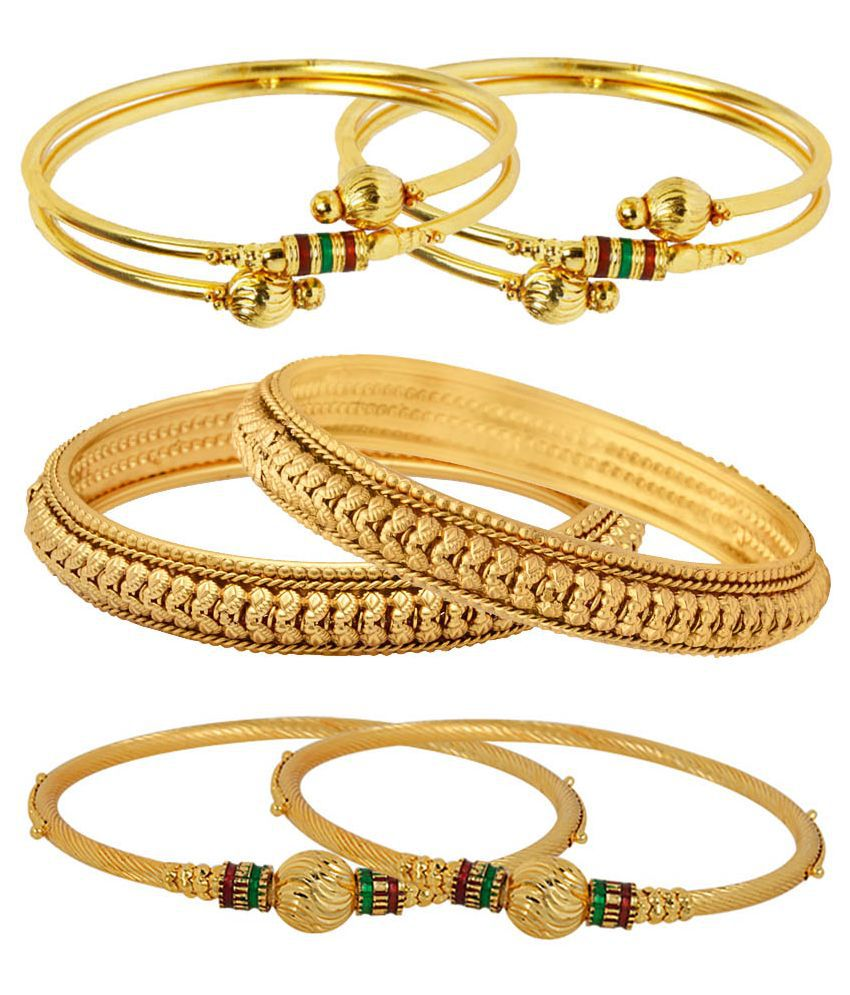 for coin shop bangles online buy imitation jewellery sukkhi plated gold fascinating bangle women bracelet temple
