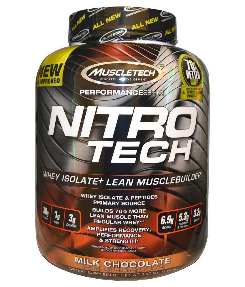 Muscletech Nitrotech 3.97 Lbs