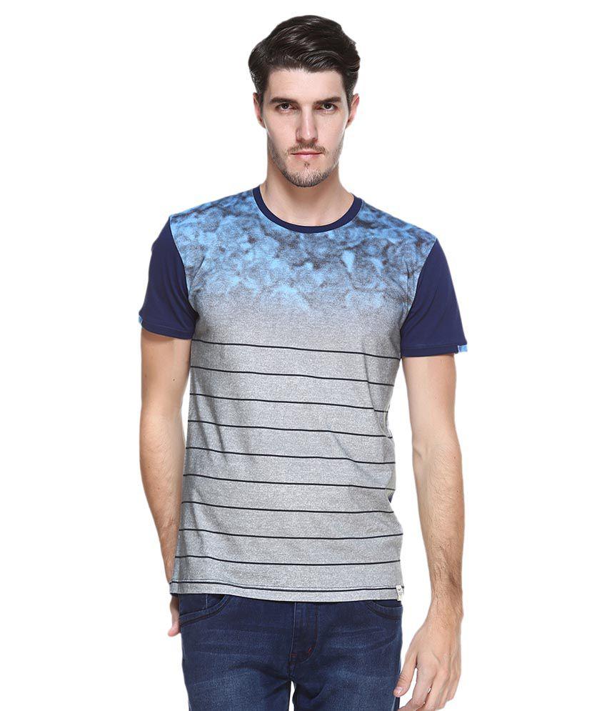 Octave Grey Round T Shirt