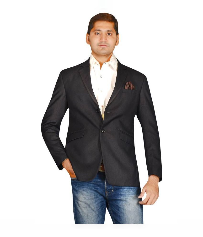MD Fashion Black Party Blazers